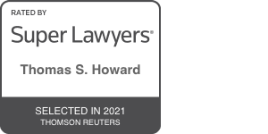 Thomas Howard Super Lawyer 2021 Badget